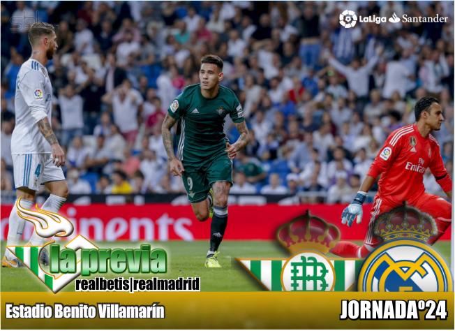 Previa  Real Betis Balompié – Real Madrid CF