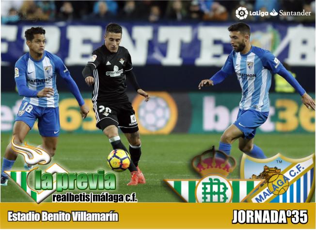 Previa | Real Betis Balompié – Málaga CF: A un paso del objetivo
