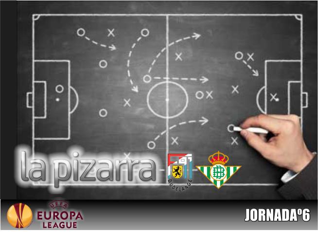 La Pizarra   Dudelange vs Real Betis. UEL, fase de grupos.