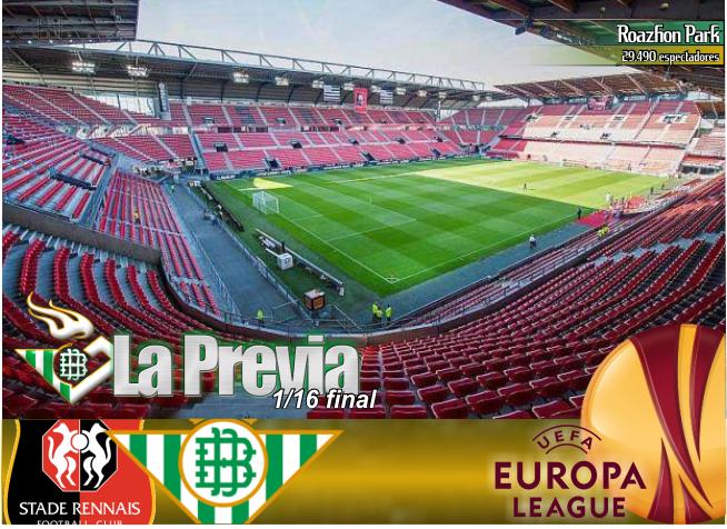 Previa   Stade Rennes-Real Betis Balompié: Recuperar sensaciones en Europa
