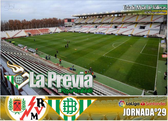 Previa | Rayo Vallecano-Real Betis Balompié; Comienza la cuenta atrás