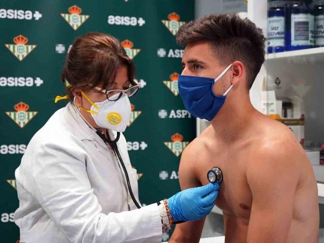 Ampliación | En el Betis no constan los positivos en coronavirus