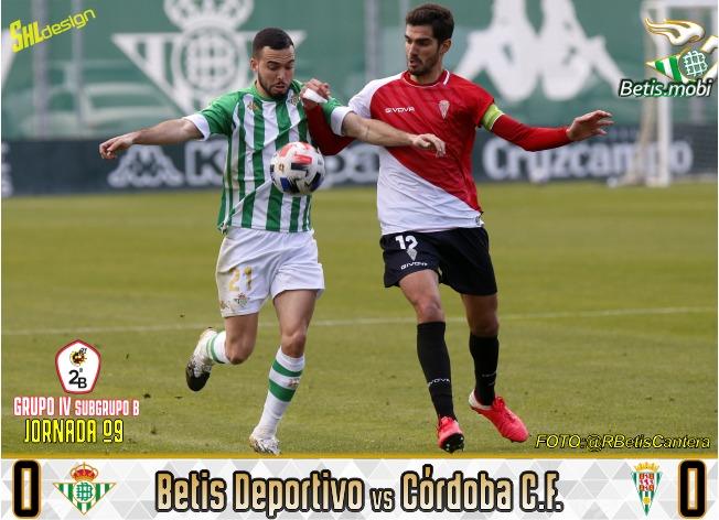Betis Deportivo | Reparto de puntos para empezar 2021