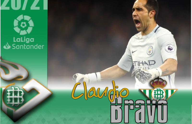 Claudio Bravo, veteranía y experiencia para la portería del Real Betis