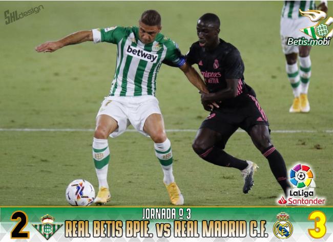 Crónica | Real Betis Balompié 2 – Real Madrid CF 3 | El Real Betis cae derrotado con polémica