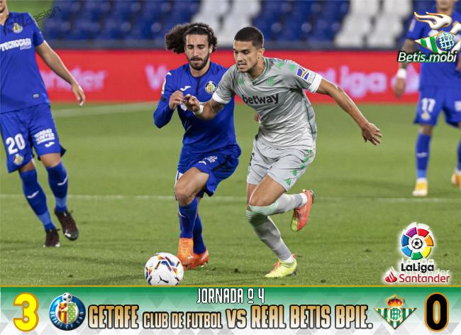 Crónica | Getafe CF 3 – Real Betis Balompié 0: Aparecen los primeros fantasmas