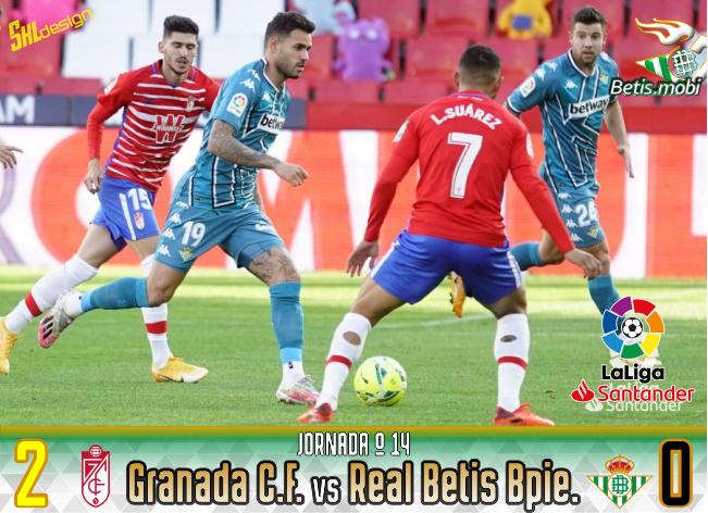 Crónica | Granada CF 2 – Real Betis Balompié 0: Querer y no poder