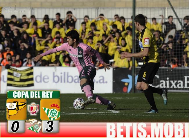Crónica | Club Portugalete 0-Real Betis Balompié 3: Superado el segundo trámite
