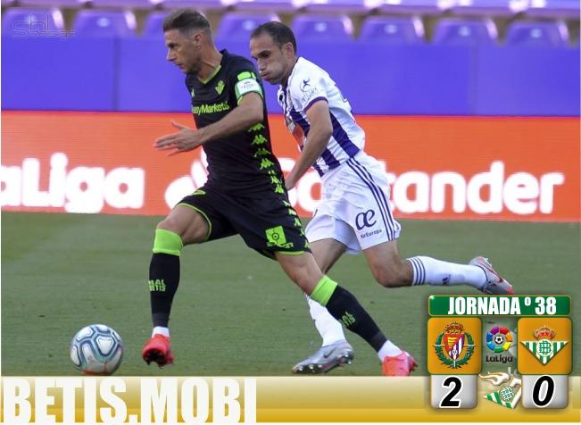 Crónica | Real Valladolid 2 – Real Betis Balompié 0: Final indigno para una temporada infame