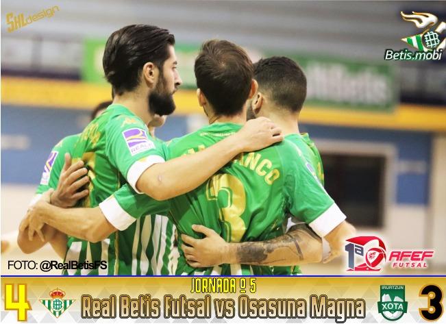 Futsal | El verdiblanco ya gana en la élite del fútbol sala español