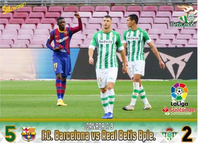 Crónica | FC Barcelona 5 – Real Betis Balompié 2: Verbena defensiva en el Camp Nou