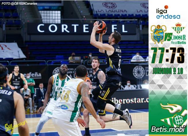 Baloncesto | La mejor cara competitiva no es suficiente para ganar en Tenerife