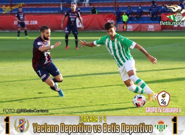 Betis Deportivo   Raúl rescata un punto en el descuento