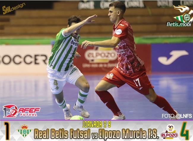 Futsal   El Pozo Murcia derrota por 1-4 al Real Betis