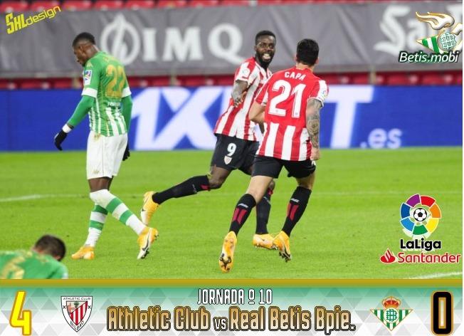 Crónica | Athletic Club de Bilbao 4 – Real Betis Balompié 0: Añadan otra vergüenza a la lista
