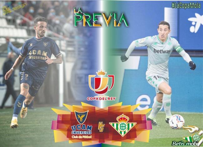 Previas | Copa del Rey | UCAM Murcia-Real Betis : Comienza la andadura copera