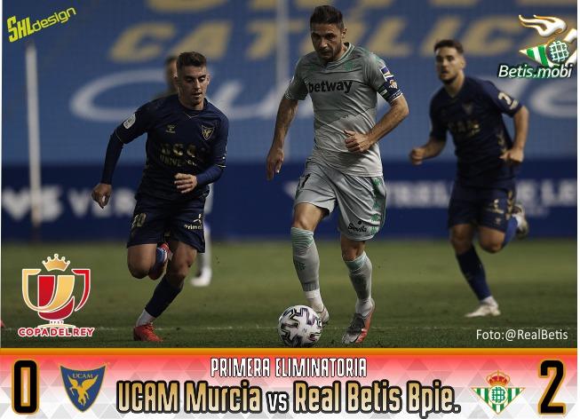Crónica | Copa del Rey | UCAM Murcia 0 – Real Betis 2: A la siguiente ronda con apuros