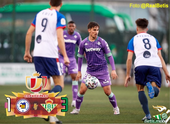 Crónica | Copa del Rey | UD Mutilvera 1 – Real Betis 3: Reacción a base de golazos para pasar de ronda