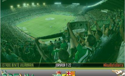 Previa | Real Betis Balompié – FC Barcelona: Obligatorio levantarse