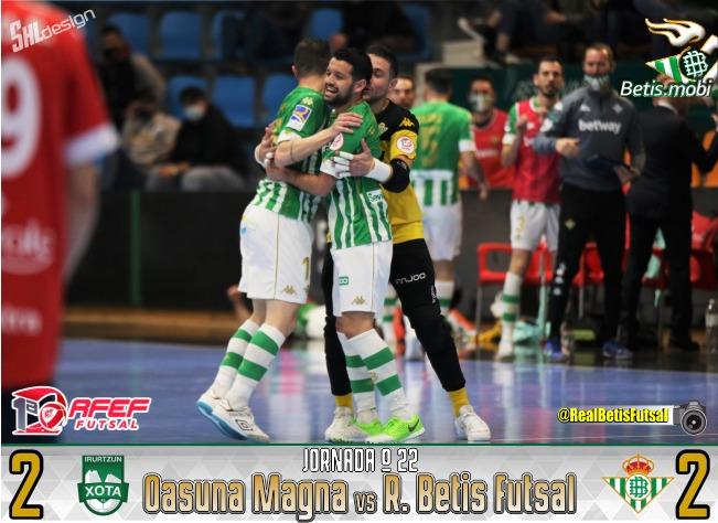 Futsal   Empate que sabe a oro