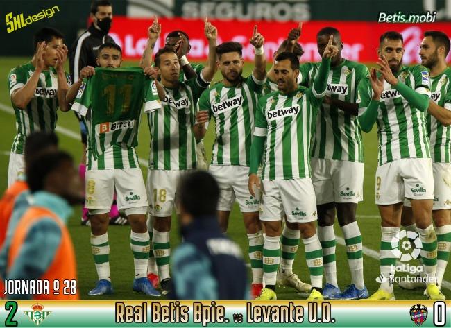Crónica | Real Betis Balompié 2 – Levante UD 0: La importancia de ganar sin jugar bien