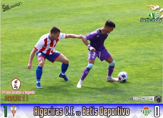 Betis Deportivo   Un arbitraje riguroso frustra al filial bético