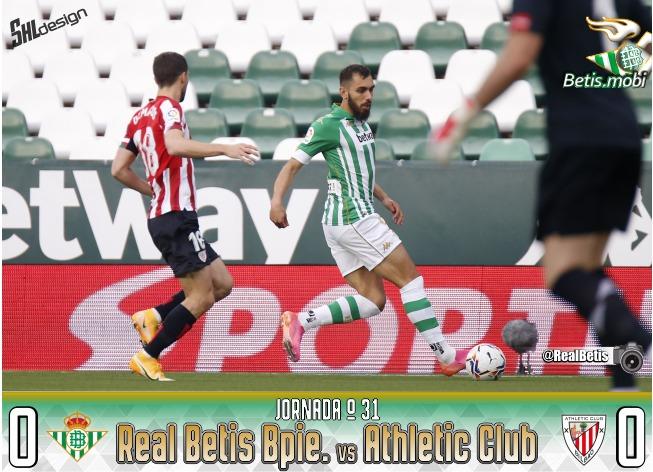 Crónica | Real Betis Balompié 0 – Athletic Club de Bilbao 0: Un punto por resistencia