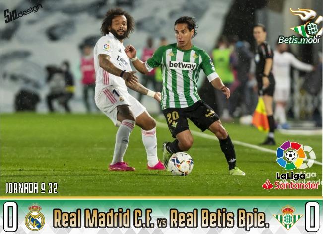 Crónica | Real Madrid CF 0 – Real Betis Balompié 0: Otro ejemplo de saber competir