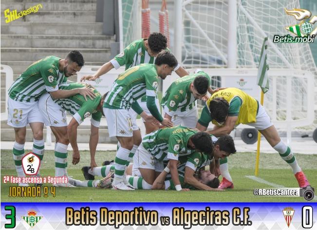 Betis Deportivo   Victoria para seguir vivos
