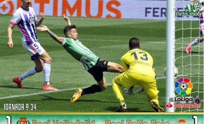 Crónica | Real Valladolid CF 1 – Real Betis 1: Real Empate Balompié