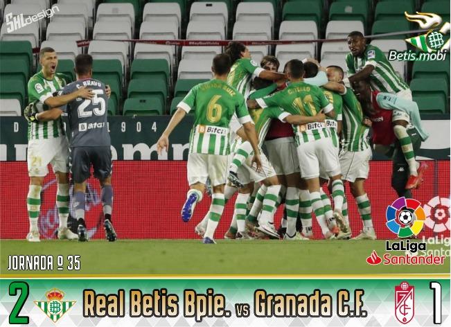 Crónica | Real Betis Balompié 2 – Granada CF 1: En el área volvió a mandar el Panda