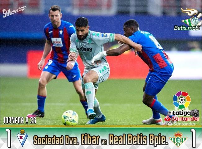 Crónica | SD Eibar 1 – Real Betis Balompié 1: El Betis se hace el harakiri