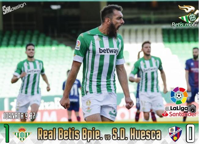 Crónica | Real Betis Balompié 1 – SD Huesca 0: El Panda bien vale el pase a Europa