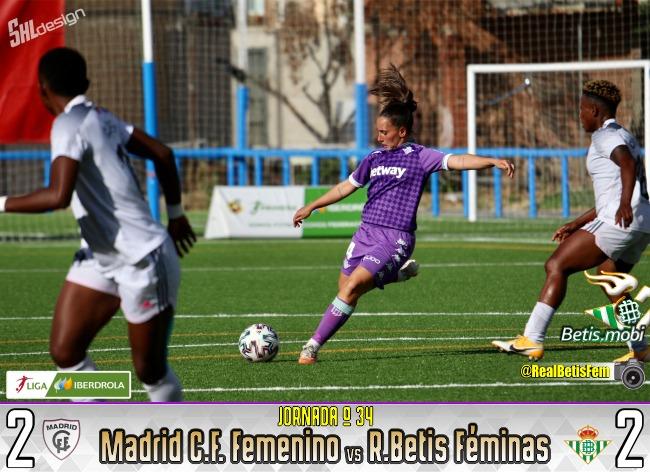 Féminas   El Real Betis Féminas cierra la temporada con un trabajado empate