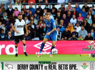 Pretemporada | Derby Country 1 – Real Betis Balompié 0: Al Betis se empiezan a ver las costuras