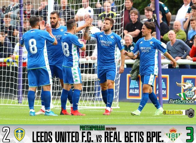 Pretemporada | Leeds United 2 – Real Betis Balompié 3: Victoria para recuperar sensaciones