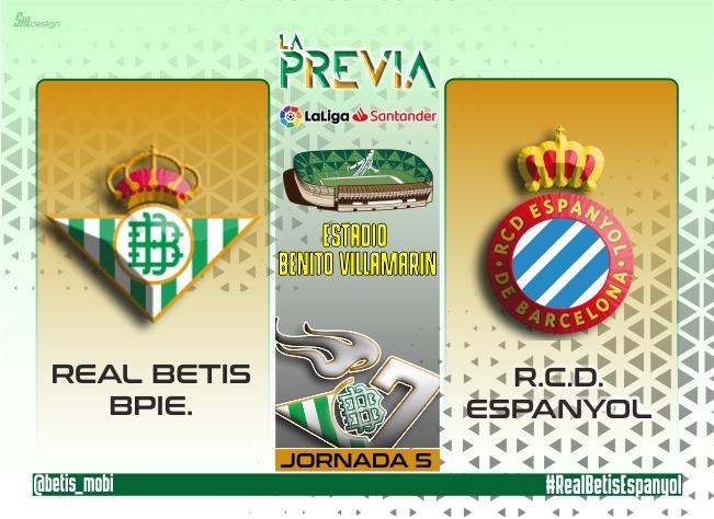 La Previa   Real Betis Balompié – RCD Espanyol: Ganar para seguir confiando