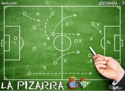 La Pizarra   Real Betis – RCD Espanyol   Temp. 21/21   La Liga. Jornada 5