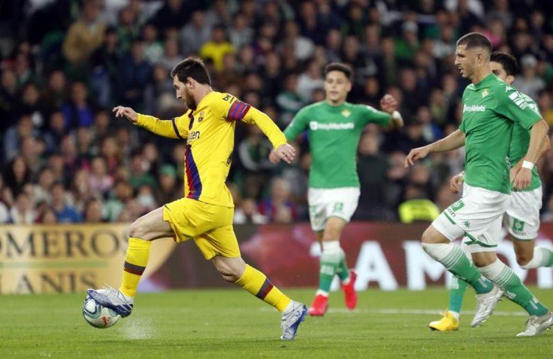 Crónica   Real Betis Balompié 2-FC Barcelona 3: Esfuerzo sin recompensa