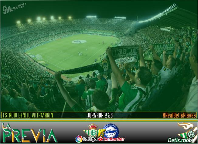 Previa | Real Betis Balompié – CD Alavés: Al derbi se llega pasando por Alavés